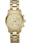 Michael Kors Women's Runway Chronograph Gold Tone Watch MK5384