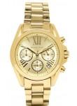 Michael Kors Women's Bradshaw Chronograph Gold Tone Watch MK5798