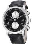 Baume & Mercier Men's Classima Black Leather Watch MOA08733