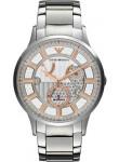Emporio Armani Men's Meccanico Automatic Stainless Steel Watch AR4668