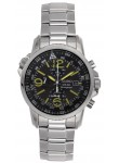 Seiko Men's Prospex Solar Black Dial Watch SSC093