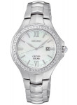 Seiko Coutura Solar Women's Mother of Pearl Dial Stainless Steel Watch SUT239