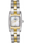 Tissot Women's T-Trend Two Tone Stainless Steel Watch T042.109.22.117.00