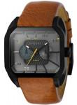 Diesel Men's Sandstorm Grey Dial Brown Leather Watch DZ4169