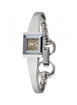 Gucci Women's G-Frame Brown Dial Stainless Steel Watch YA128510