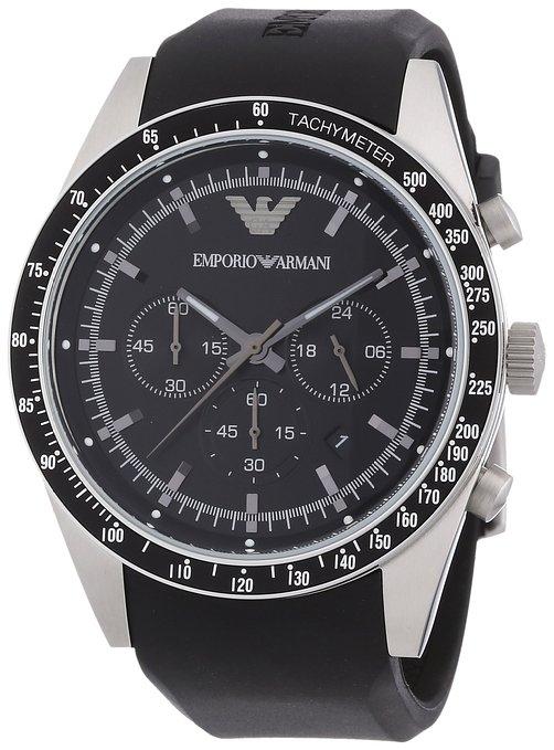 the latest 50019 97371 Emporio Armani Men's Sportivo Chronograph Watch AR5985