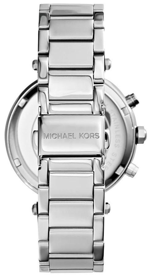 92b012307186 Michael Kors Women s Parker Silver Tone Watch MK5353